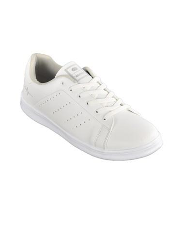 Bestof Bestof 041 Beyaz-Beyaz Erkek Spor Ayakkabı (Battal Boy) Beyaz